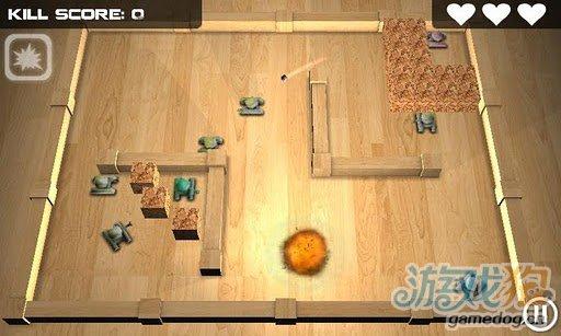 質感3D安卓遊戲《坦克英雄》來一場經典的坦克大戰