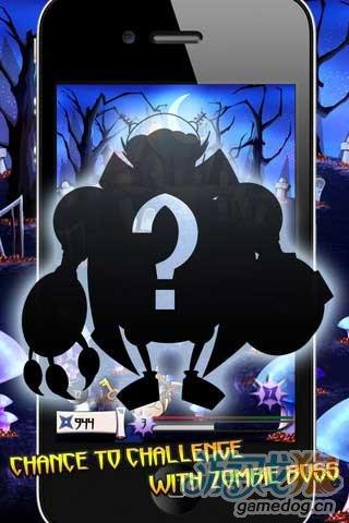 iOS平台角色扮演冒险小游戏《僵尸大战忍者》