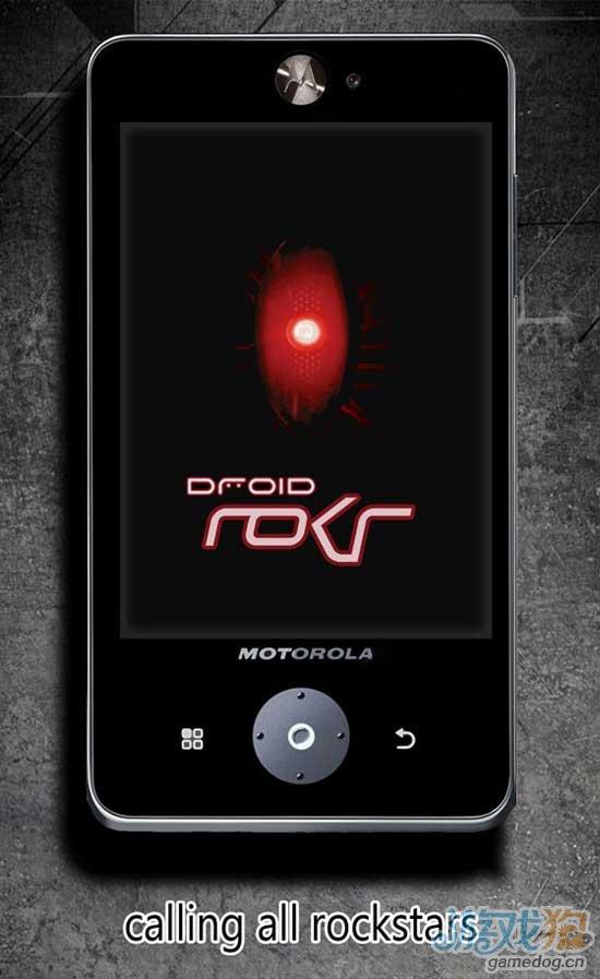 摩托罗拉Droid ROKR概念手机 Android 4.0系统
