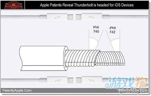 苹果申请三专利 iPhone或用雷电高速数据接口