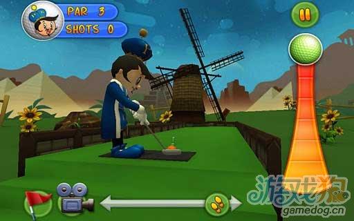 Android平台3D迷你游戏推荐《冒险高尔夫王》