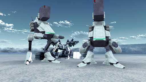 安卓3D机器人射击游戏《机器人大战2:毁灭枪手》