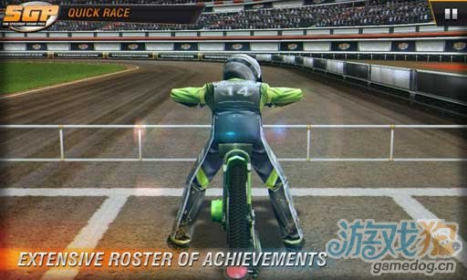 体验安卓逼真赛车游戏《GP摩托 Speedway GP 2011》