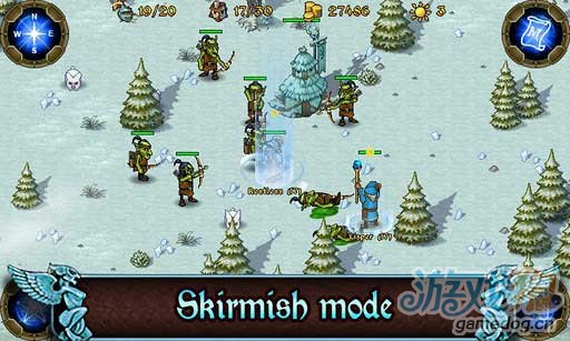 PC即时战略游戏移植Android平台《王权:幻想王国》