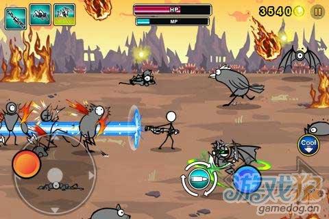 射击游戏《卡通大战》全新改装正式席卷Android