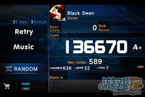iOS平台上最火爆的音乐游戏《劲乐团》移植安卓平台