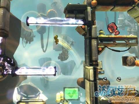 iOS平台3D引擎效果物理逃脱游戏《惯性:逃脱速率》