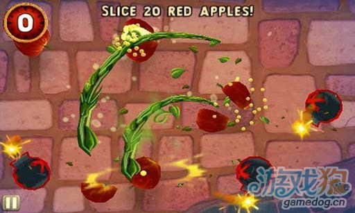 iOS移植《水果忍者2:穿靴子的猫》试玩评测