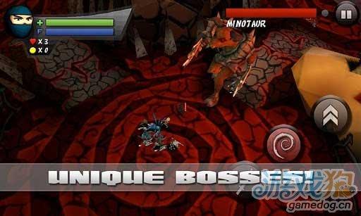 iPhone移植3D动作游戏游戏推荐《忍者小子》