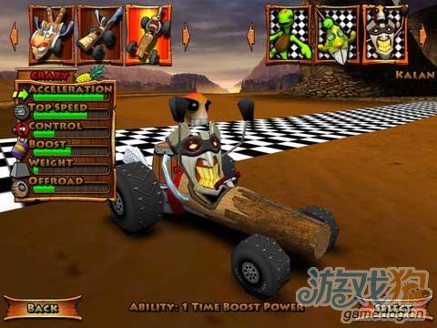 iOS免费赛车游戏《提基3D卡丁车》从火山深处出发