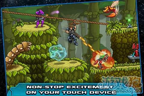 2D横版动作射击游戏推荐《星际陆战队:无限弹药》