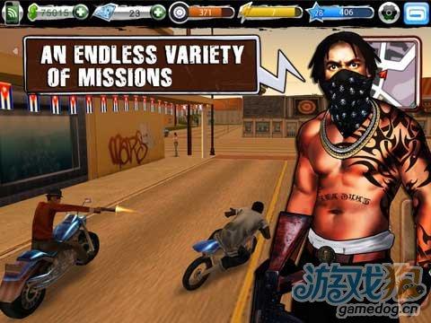 Gameloft旗下沙盒式iOS免费游戏《Urban Crime》