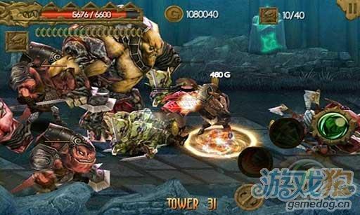 安卓3D动作游戏《神鬼战将》逃离死亡之塔
