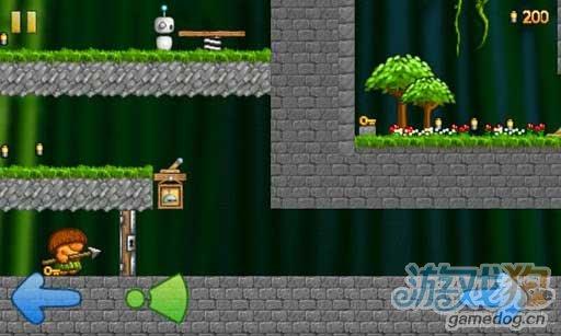 安卓冒险闯关游戏推荐《小机器人奥德赛》