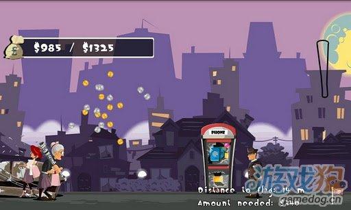 Android搞笑暴力游戏《愤怒的老奶奶》一锤砸飞你