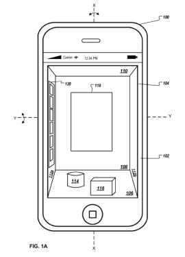 苹果新专利:通过动作控制iPhone 3D用户界面