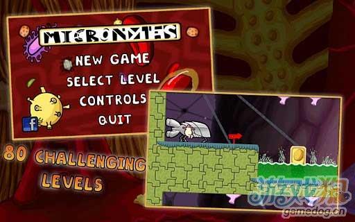 休闲游戏《细胞大战》我们的目标是:没有病毒