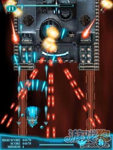 iPad免费竖版空战射击类游戏推荐《星际怒火HD》