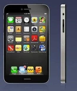 iPhone 5真的是这样吗 无Home键屏更大