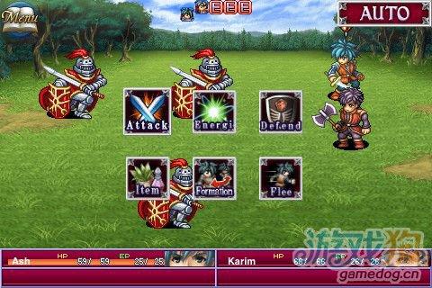 移植自iOS平台Q版RPG游戏《阿尔法之战》