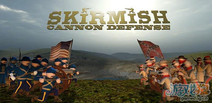 安卓3D射击防御游戏《最后防御:美国内战》