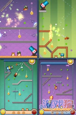 Android益智休闲小清新游戏推荐《仓鼠大炮》
