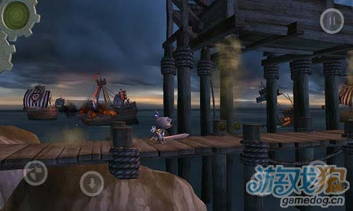 《发条骑士》3D横版风格角色扮演兼冒险游戏