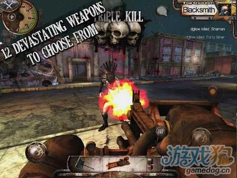 iOS平台动作射击游戏推荐《暖枪 Warm Gun》