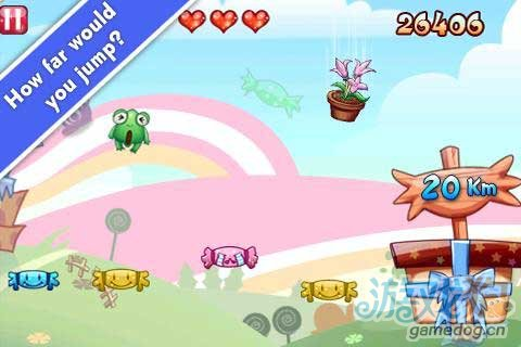 Android可爱重力感应休闲游戏《弹跳青蛙》