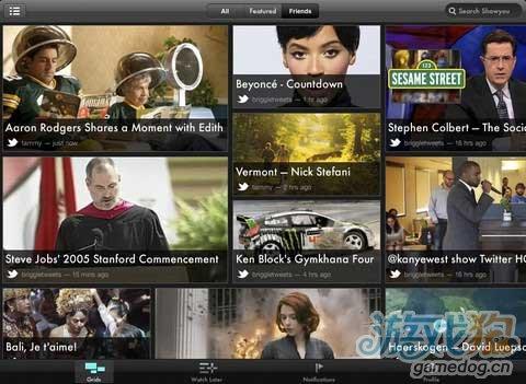 Showyou iPad应用升级版优化社交视频发现