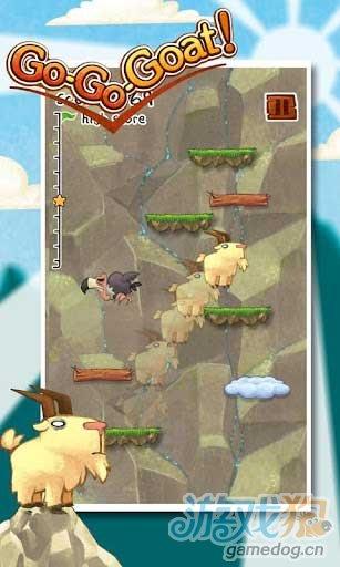 Android跳跃类游戏《山羊跳跃》居家旅行必备