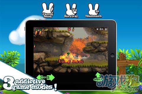 血腥暴力的Android动作游戏《残忍的兔子》