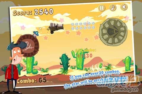 iPhone横版过关游戏:海盗的宝藏3 将跳跃做到极致