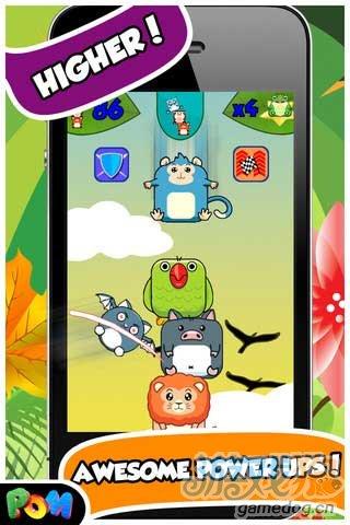 乐趣十足的休闲益智游戏评测《动物叠罗汉》iPad版