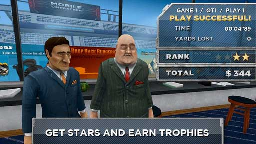 Android橄榄球游戏推荐《钢铁后卫》