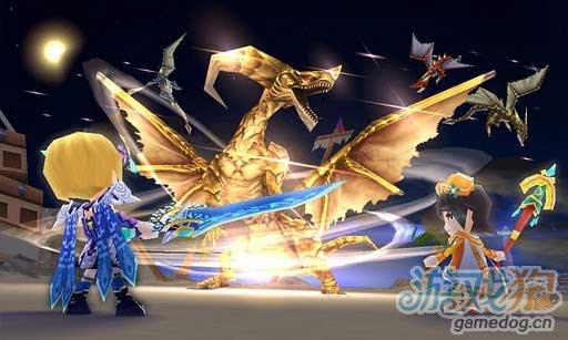 Android平台大型3D在线RPG游戏《元素骑士》