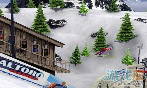 Android华丽花样滑雪游戏《跳台滑雪2012》