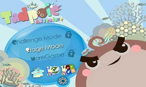Android可爱休闲游戏《蝌蚪冒险》可爱无比