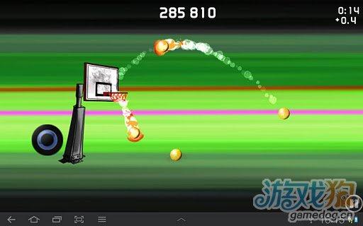 《划线投篮》Android手指投篮体育类游戏热门评测