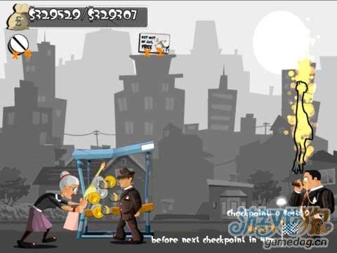 排压最佳的选择iOS动作游戏《愤怒的老太》免费版
