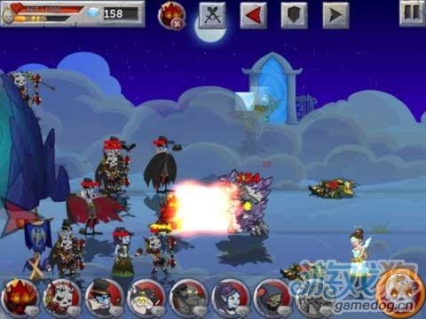 帶有RPG養成元素的iOS策略遊戲《怪獸之戰》