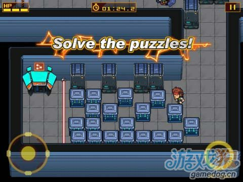iOS動作探險遊戲《合金裝備HD》潛入敵人內部戰鬥
