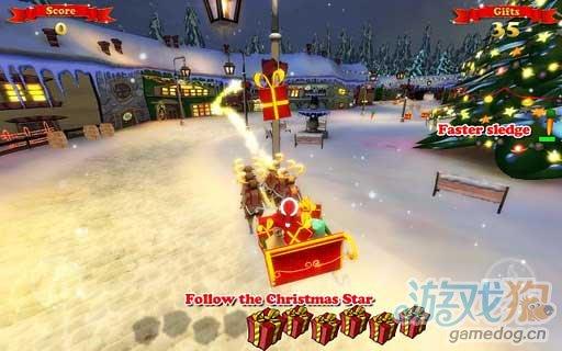 Android平台趣味华丽竞速游戏《圣诞鹿车》