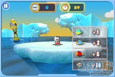 安卓新游戏《饥饿的海豹》帮助解决填饱肚子问题