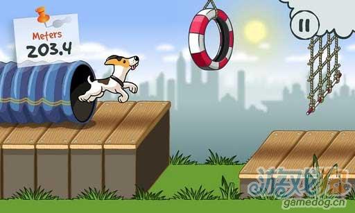 动作跑酷游戏《狗狗穿越城市》Android版试玩评测