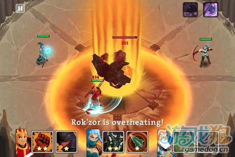 iOS游戏《突袭首领》评测:强调技能搭配策略RPG