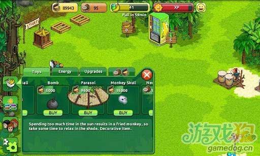 Android休闲游戏《迷失猴子岛 Lost Monkey》评测