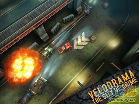 iOS竞速赛车游戏《死亡赛车》演绎暴力美学