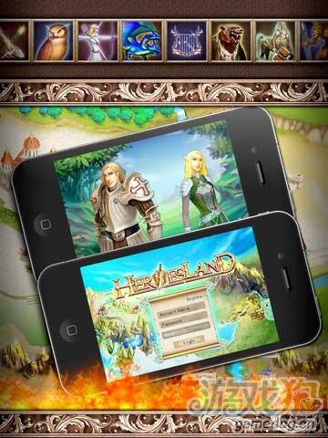 iOS多人在线移动游戏《英雄霸业豪华版》