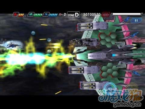 iOS横版射击游戏推荐《太空战斗机:第二序章》